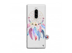 Coque Sony Xperia 1 Multicolor Watercolor Floral Dreamcatcher