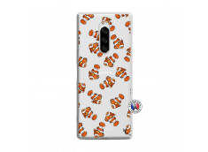 Coque Sony Xperia 1 Petits Poissons Clown
