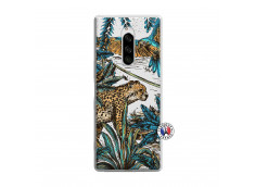 Coque Sony Xperia 1 Leopard Jungle