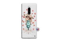 Coque Sony Xperia 1 Puppies Love