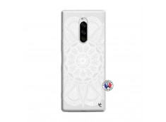 Coque Sony Xperia 1 White Mandala