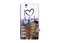 Coque Sony Xperia C4 I Love Amsterdam