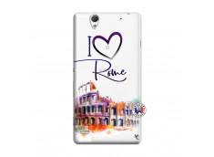 Coque Sony Xperia C4 I Love Rome
