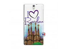 Coque Sony Xperia C5 Ultra I Love Barcelona