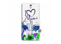 Coque Sony Xperia C5 Ultra I Love Miami