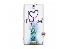 Coque Sony Xperia C5 Ultra I Love New York