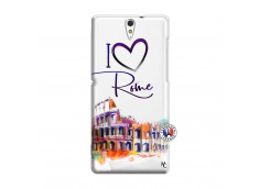 Coque Sony Xperia C5 Ultra I Love Rome