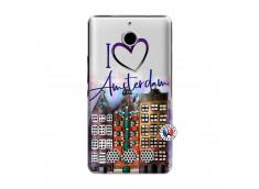 Coque Sony Xperia E1 I Love Amsterdam