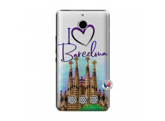 Coque Sony Xperia E1 I Love Barcelona