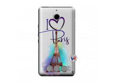 Coque Sony Xperia E1 I Love Paris