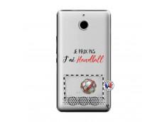 Coque Sony Xperia E1 Je peux pas j'ai Handball