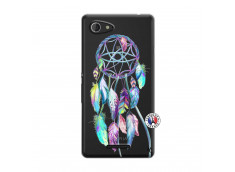 Coque Sony Xperia E3 Blue Painted Dreamcatcher