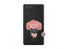 Coque Sony Xperia E3 Bouquet de Roses