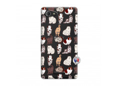Coque Sony Xperia E3 Cat Pattern