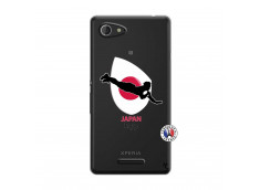 Coque Sony Xperia E3 Coupe du Monde Rugby-Japan