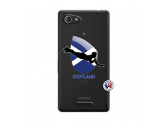 Coque Sony Xperia E3 Coupe du Monde Rugby-Scotland