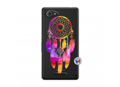 Coque Sony Xperia E3 Dreamcatcher Rainbow Feathers