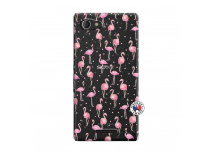 Coque Sony Xperia E3 Flamingo