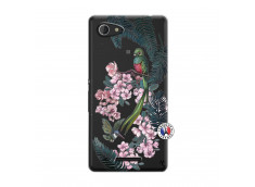 Coque Sony Xperia E3 Flower Birds