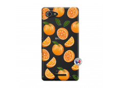 Coque Sony Xperia E3 Orange Gina