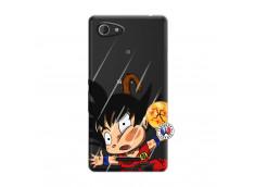 Coque Sony Xperia E3 Goku Impact