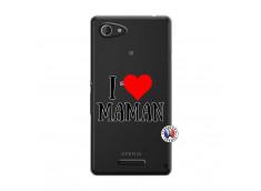 Coque Sony Xperia E3 I Love Maman