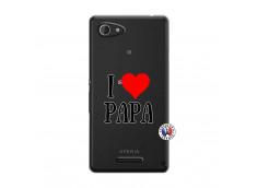 Coque Sony Xperia E3 I Love Papa