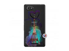 Coque Sony Xperia E3 I Love Paris