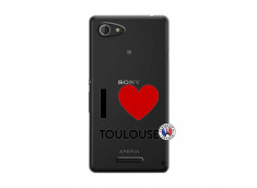 Coque Sony Xperia E3 I Love Toulouse