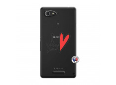 Coque Sony Xperia E3 I Love You