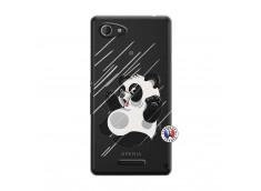 Coque Sony Xperia E3 Panda Impact