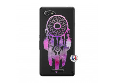 Coque Sony Xperia E3 Purple Dreamcatcher