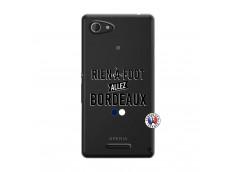 Coque Sony Xperia E3 Rien A Foot Allez Bordeaux