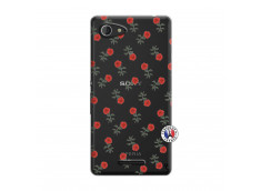 Coque Sony Xperia E3 Rose Pattern