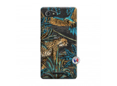 Coque Sony Xperia E3 Leopard Jungle