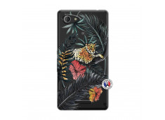 Coque Sony Xperia E3 Leopard Tree