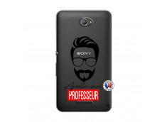 Coque Sony Xperia E4 Apelle Moi Professeur