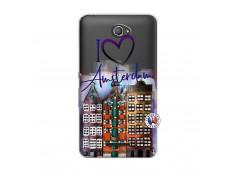 Coque Sony Xperia E4 I Love Amsterdam