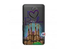 Coque Sony Xperia E4 I Love Barcelona