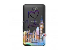 Coque Sony Xperia E4 I Love London