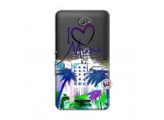 Coque Sony Xperia E4 I Love Miami