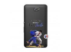 Coque Sony Xperia E4 Je peux pas j'ai Judo