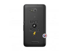 Coque Sony Xperia E4G Bandes De Moldus