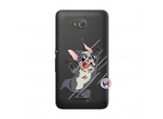 Coque Sony Xperia E4G Dog Impact