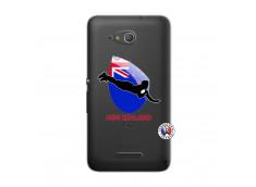 Coque Sony Xperia E4G Coupe du Monde Rugby- Nouvelle Zélande