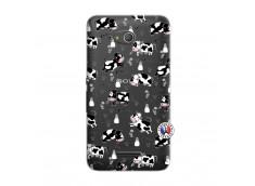 Coque Sony Xperia E4G Cow Pattern