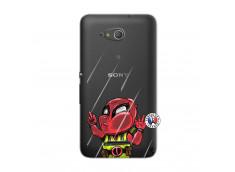 Coque Sony Xperia E4G Dead Gilet Jaune Impact