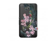 Coque Sony Xperia E4G Flower Birds