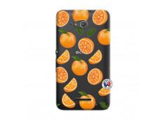 Coque Sony Xperia E4G Orange Gina