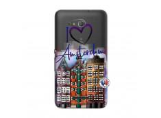 Coque Sony Xperia E4G I Love Amsterdam